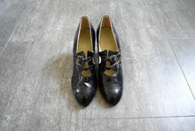 Load image into Gallery viewer, 1920s shoes . vintage 20s Mary Jane heels