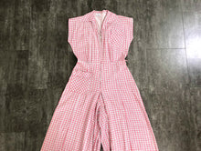 Load image into Gallery viewer, 1940s 1950s romper . vintage 40 50s playsuit