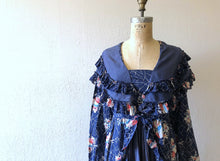 Load image into Gallery viewer, Vintage 1930s dress . 30s floral print dress