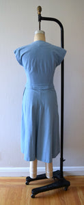 1940s 1950s sportswear set . vintage 40s 50s dress