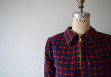 Load image into Gallery viewer, Vintage reversible jacket . 1950s corduroy jacket