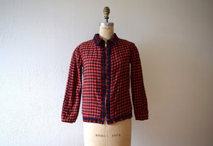 Vintage reversible jacket . 1950s corduroy jacket
