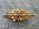 Amourelle brooch . Frank Hess for Kramer vintage jewelry