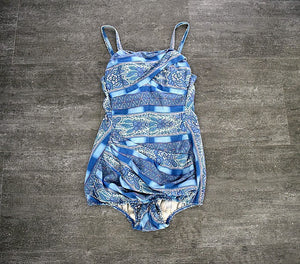 1950s swimsuit . vintage Rose Marie Reid bathing suit