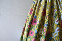 Load image into Gallery viewer, 1950s halter dress . vintage 50s border print dress
