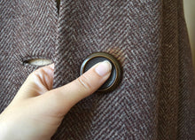 Load image into Gallery viewer, 1930s 1940s coat . vintage 30s 40s wool coat
