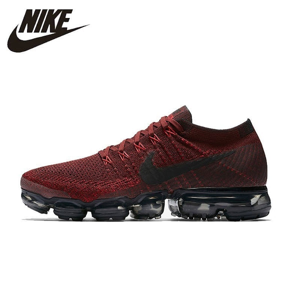 606f86bbf95 Nike Air Vapormax Flyknit Men s Running Shoes Breathable Sneakers  Comfortable Sport Shoes  849558-601