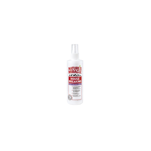 Nature's Miracle House Breaking Potty Training Dog Spray 8 Oz