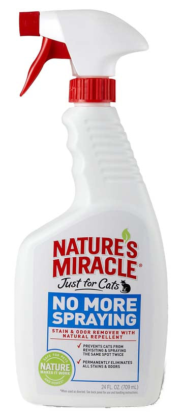 Nature's Miracle No More Spraying Just for Cat 24 Oz
