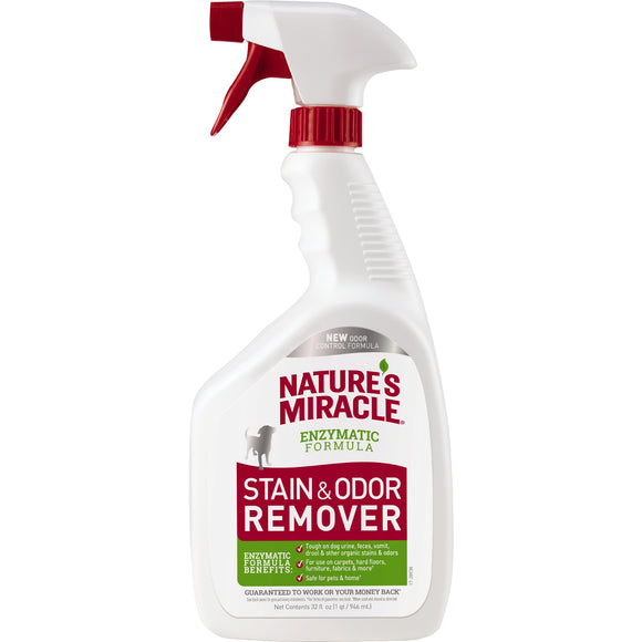 Nature's Miracle Stain & Odor Remover for Dog 32 Oz