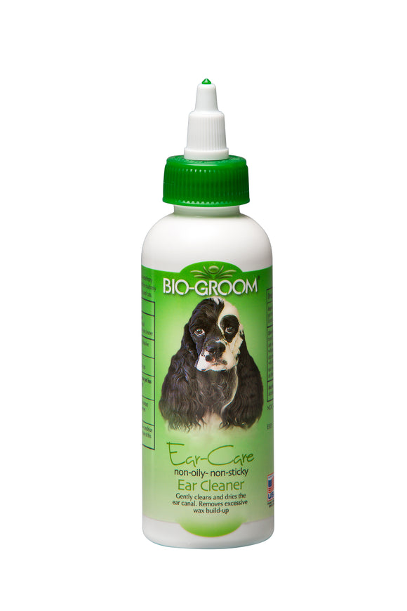 Bio-Groom Ear-Care Non Oily - Non Sticky Ear Cleaner for Dog 4 Oz