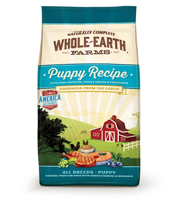 Whole Earth Farms Goodness from the Earth Puppy Recipe 12 Lbs