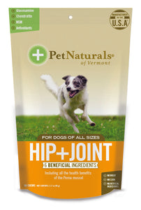 Pet Naturals of Vermont Hip + Joint Dog Chews 60 Count