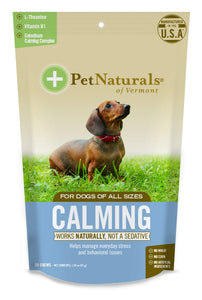 Pet Naturals of Vermont Calming Dog Chews 30 Count
