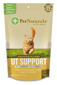 Pet Naturals of Vermont Urinary Tract Support Cat Chews 60 Count
