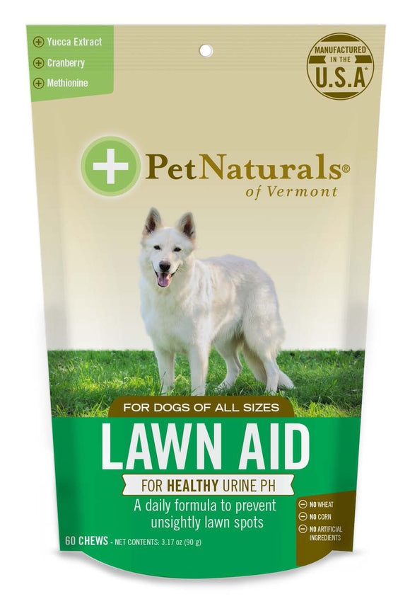 Pet Naturals of Vermont Lawn Aid Dog Chews 60 Count
