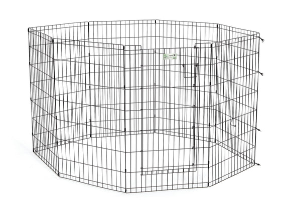 LifeStages Exercise Pen w/Full MAXLock Door Black Color 42 Inch