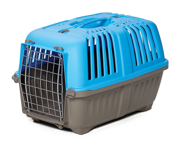 Spree Travel Dog Carrier Blue Color 19 Inch