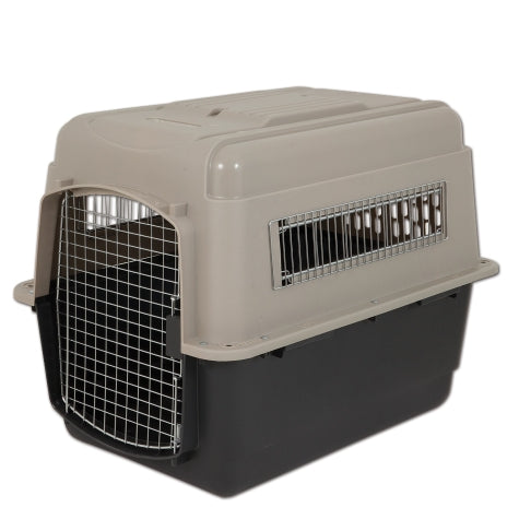 Petmate Ultra Vari Kennel Taupe/Black Color 30-50 Lbs