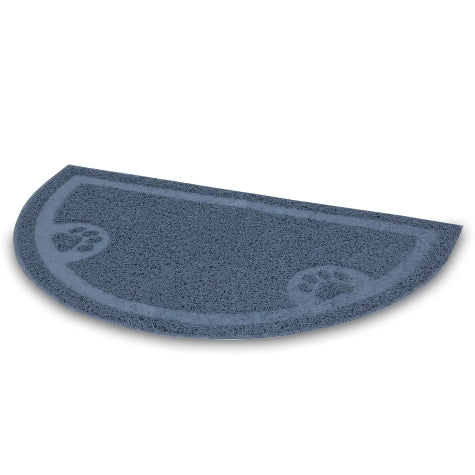 Petmate 1/2 Circle Waterfall Litter Catcher Mat Color One Size