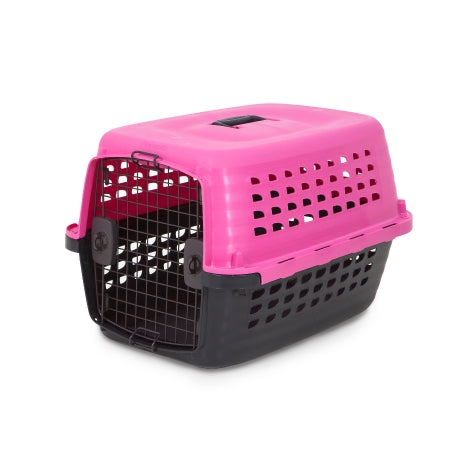 Petmate Compass Kennel Hot Pink Color Up to 10 Lbs Dogs