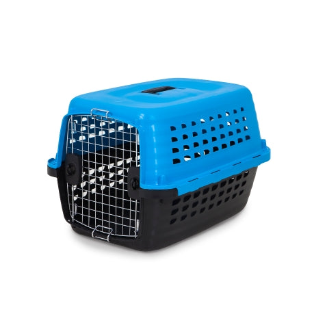 Petmate Compass Kennel Blue Color Up to 10 Lbs Dogs