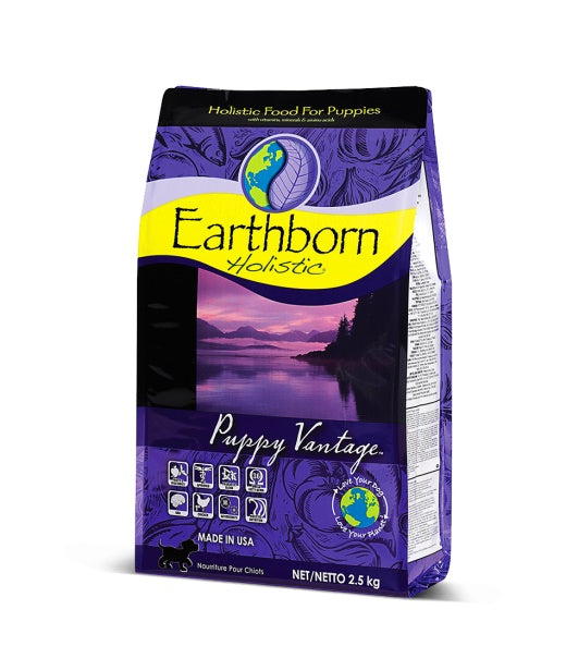 Earthborn Holistic Puppy Vantage Dog Food 28 Lbs