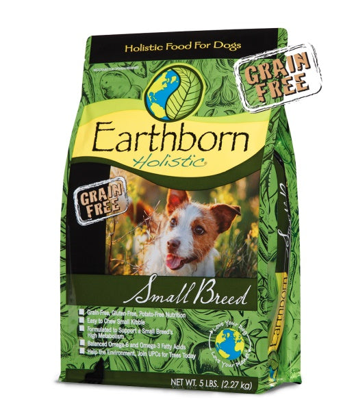 Earthborn Holistic Grain Free Small Breed Dog Food 14 Lbs