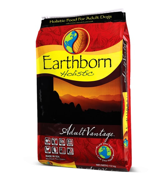 Earthborn Holistic Adult Vantage Dog Food 28 Lbs