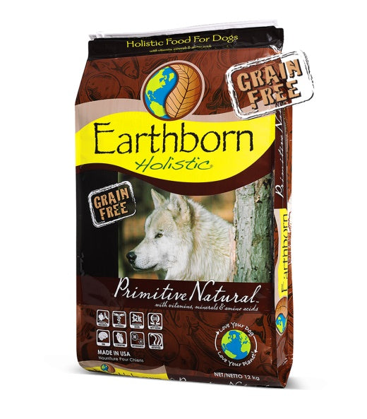 Earthborn Holistic Grain Free Primitive Natural Dog Food 28 Lbs