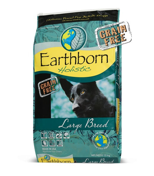 Earthborn Holistic Grain Free Large Breed Adult Dog Food 28 Lbs