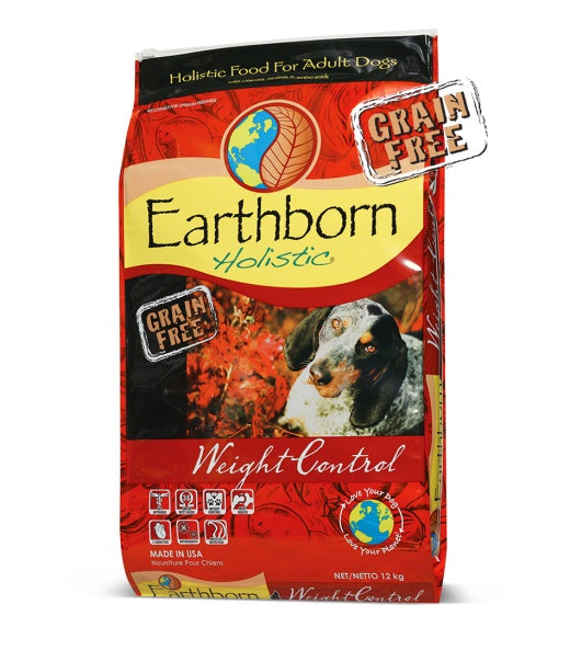 Earthborn Holistic Weight Control Adult Dog Food 28 Lbs