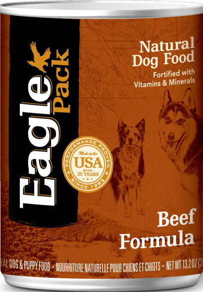 Eagle Pack Beef Formula Dog Food 13.2 Oz
