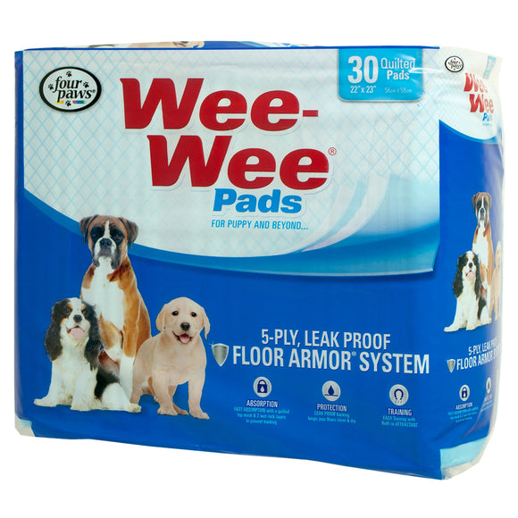 Four Paws Wee-Wee Pads for Dog 30 Count