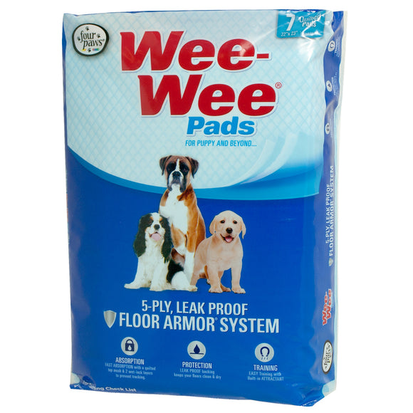 Four Paws Wee-Wee Pads for Dog 7 Count