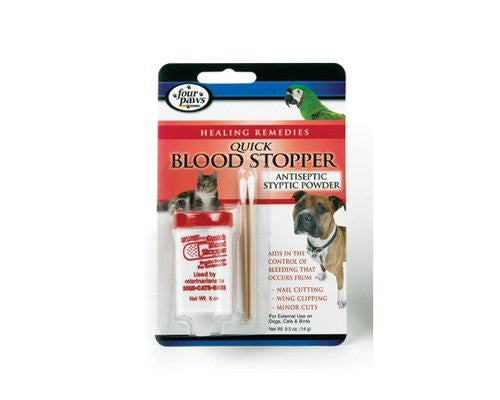 Four Paws Quick Blood Stopper Powder for Dog 0.5 Oz