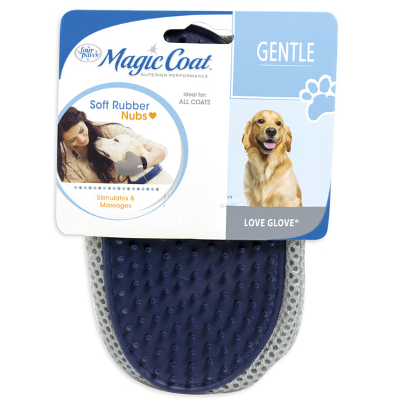 Four Paws Magic Coat Love Glove Grooming Mitt for Cat &Dog