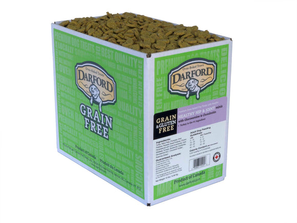 Darford Grain Free Healthy Hip & Joint Minis Functionals Dog Treats 15 Lbs