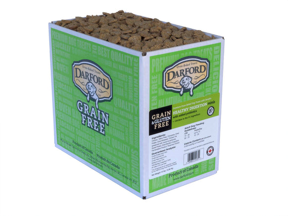 Darford Grain Free Healthy Digestion Minis Functionals Dog Treats 15 Lbs