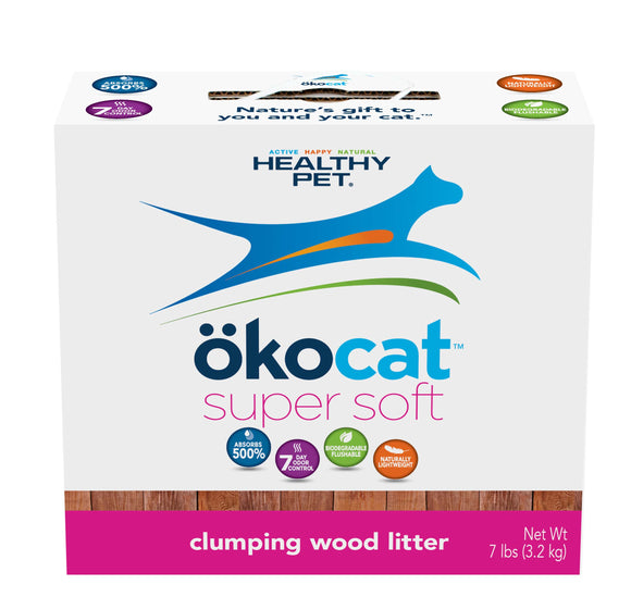 ökocat Super Soft Clumping Wood Cat Litter 7 Lbs