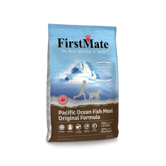 FirstMate Grain Free Pacific Ocean Fish Meal Original Formula Dog Food 5 Lbs