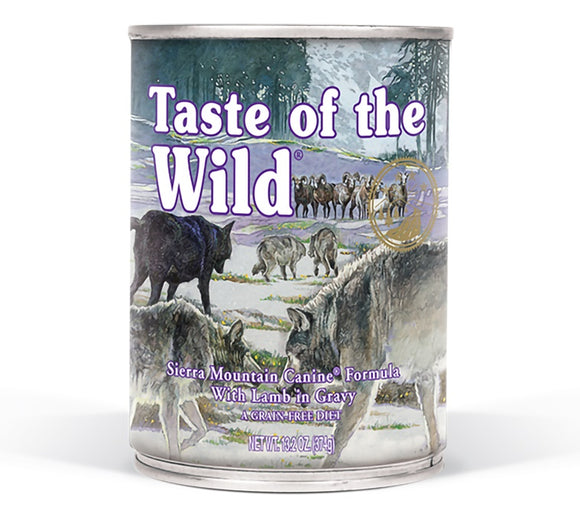 Taste of the Wild Sierra Mountain Canine Formula with Lamb In Gravy 13.2 Oz