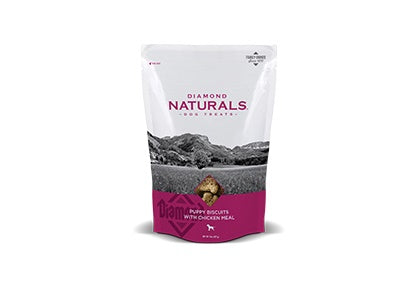 Diamond Naturals Puppy Biscuits with Chicken Meal 8 Oz