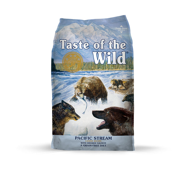 Taste of the Wild Pacific Stream Canine Recipe for Dog 14 Lbs