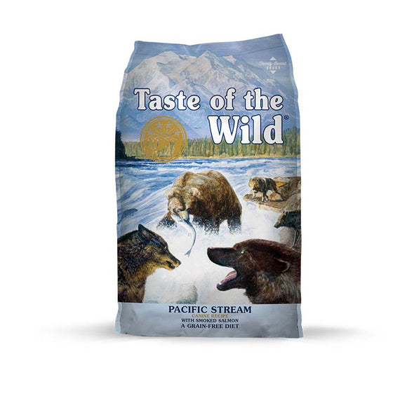 Taste of the Wild Pacific Stream Canine Recipe for Dog 28 Lbs