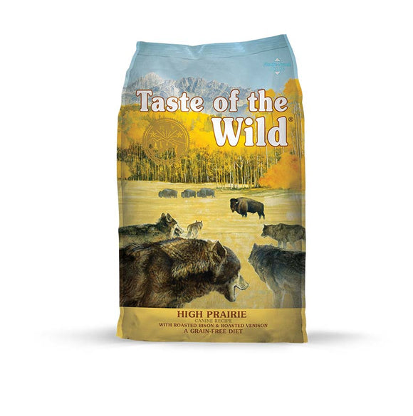 Taste of the Wild High Prairie Canine Recipe for Dog 28 Lbs