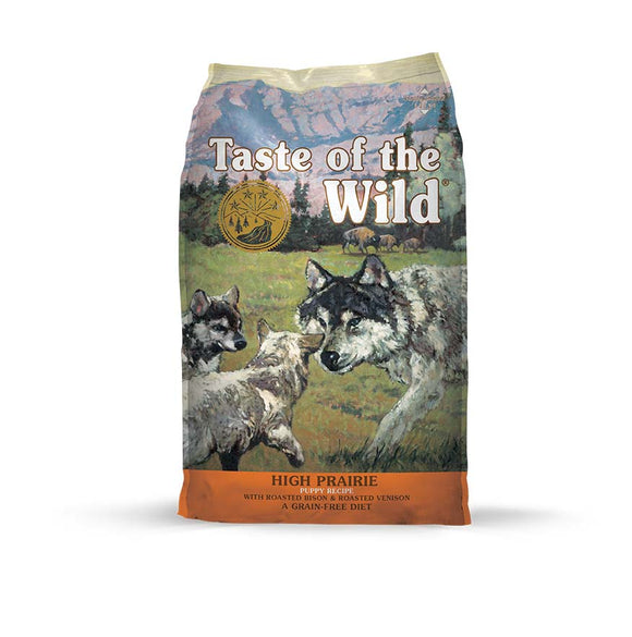 Taste of the Wild High Prairie Puppy Recipe for Puppy 28 Lbs