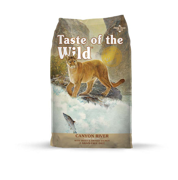 Taste of the Wild Canyon River Feline Recipe for Cat 14 Lbs