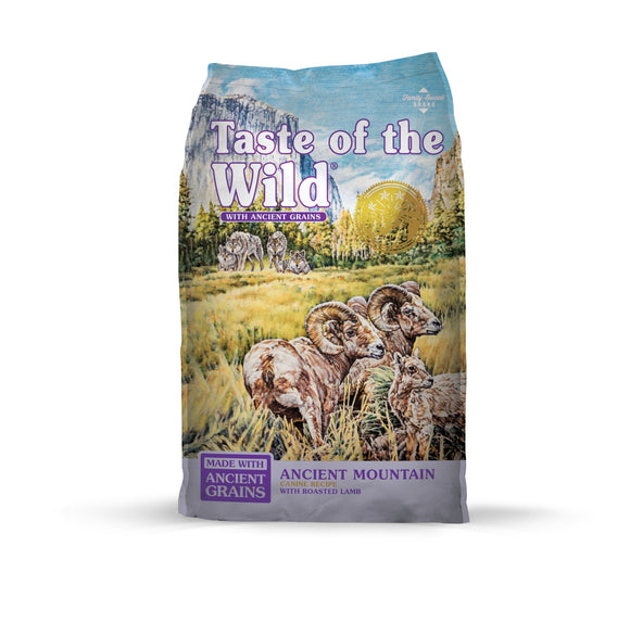 Taste of the Wild Ancient Mountain with Roasted Lamb Dog Food 28 Lbs