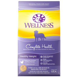 Wellness Complete Health Healthy Weight Deboned Chicken & Peas Recipe Dog Food 5 Lbs
